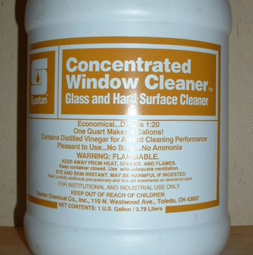 Spartan Concentrated Window Cleaner Msds Photo