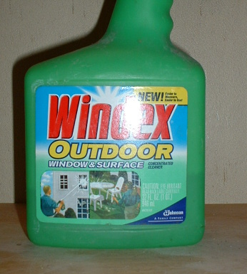 Windex Outdoor Window And Surface Cleaner Msds Photo
